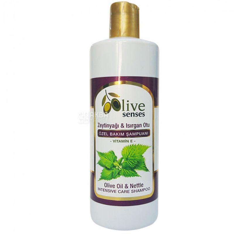 Selesta Senses, Шампунь для спеціального догляду з оливковою олією, кропивою і вітаміном Е, 500 мл