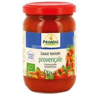 Primeal, Соус томатный прованский, 200 г, стекло