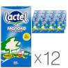 Lactel, Молоко з вітаміном D 0,5%, 1л, Упаковка 12 шт.