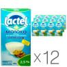 Lactel, Молоко з вітаміном D 2,5%, 1л, Упаковка 12 шт.