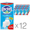 Lactel, Milk with vitamin D 3.2%, 1 l, Packaging 12 pcs.
