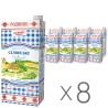 Молоко Селянське Родинне  2,5%, 2л ультрапастеризованное, Упаковка 8 шт.