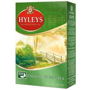 Hyleys English Green Tea, 100 г, Чай зеленый Хэйлис Инглиш Грин Ти
