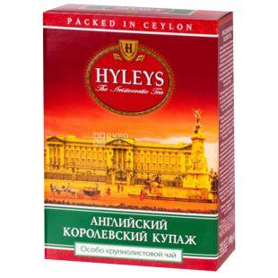 Hyleys English Royal Blend Tea, 100 г, Чай черный Хэйлис, Английский Королевский Купаж