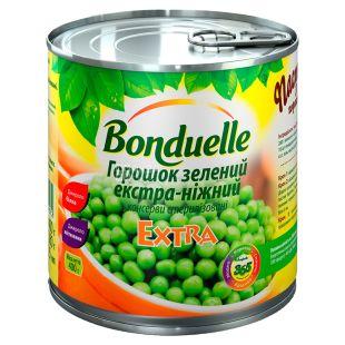 Bonduelle, Зелений горошок екстра-ніжний, 425 мл, ж/б