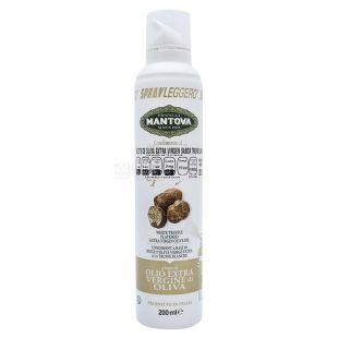 Масло оливковое Mantova Extra Virgin с ароматом трюфеля, 200 г, спрей