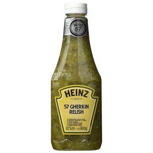 Heinz, Соус реліш з огірком, 875 мл, пластикова бутила