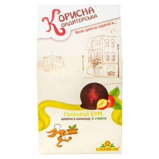Korisna Konditerska, Candy nut boom with stevia, 150g, cardboard box
