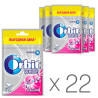 Orbit Bubblemint, Жувальна гумка, Упаковка 22 шт. по 35 г, В пакеті
