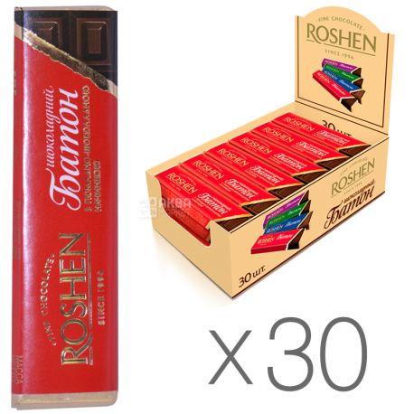 Roshen, Батончик с помадно-шоколадной начинкой, Упаковка 30 шт. по 43 г, картон