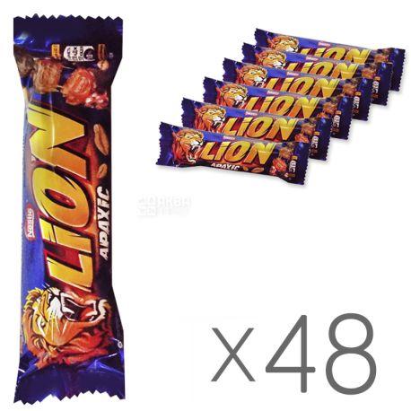 Nestle Lion bar, peanut, 42 g, 48 pc.