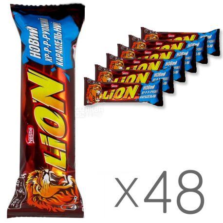 Батончик Nestle Lion, 42г, упаковка 48шт