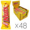 Nestle Nuts Single, 42 г, упаковка 48 шт., Батончик, Нестле Натс Сингл