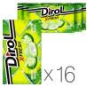 Dirol X-Fresh Свежесть яблока, жевательная резинка, 18 г, упаковка 16 шт.