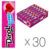 Dirol Bubble Gum Frutti, 14 г, упаковка 30 шт., Жувальна гумка, Фруктова