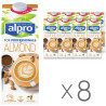 Alpro Almond Professionals, Soy Almond Drink, pack of 8 pieces on 1 l