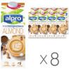 Alpro Almond Professionals, Соевый Миндальный напиток, упаковка 8шт по 1л