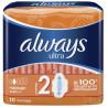 Always, 10 шт., прокладки с ароматом, Ultra Normal Plus