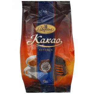 Украина, какао-порошок, Серебряный ярлык, 100 г