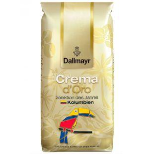 Dallmayr, кава в зернах, Crema d'Oro Peru, 1 кг, м/у