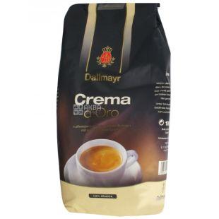 Dallmayr, кава в зернах, Crema d'Oro, 1 кг, м/у