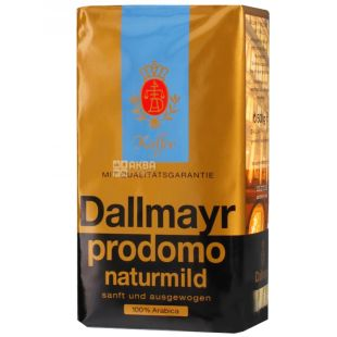 Dallmayr, кава мелена, Prodomo Naturmild, 500 г, м/у