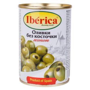 Iberica, 280 г, Оливки без косточки, эконом, ж/б