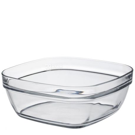 Duralex Lys Carré Bowl square, 2000ml, 20cm