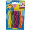 Fun Zigzag, Candles for Cake, 10 Pack, Package