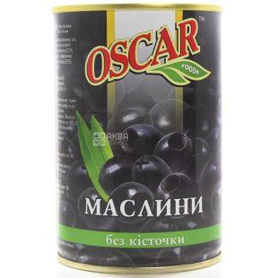 Oscar Маслини без кісточок, 425 г, Жерстяна банка