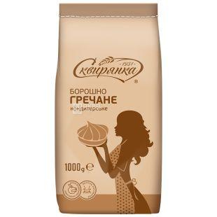 Flour buckwheat confectionery, 1 kg, paper bag