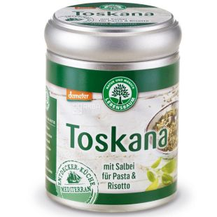 Lebensbaum Toskana, смесь специй, 45 г, ж/б