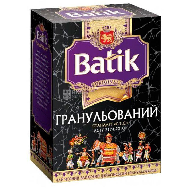 Batik, Гранульований, 100 г, Чай Батік, чорний