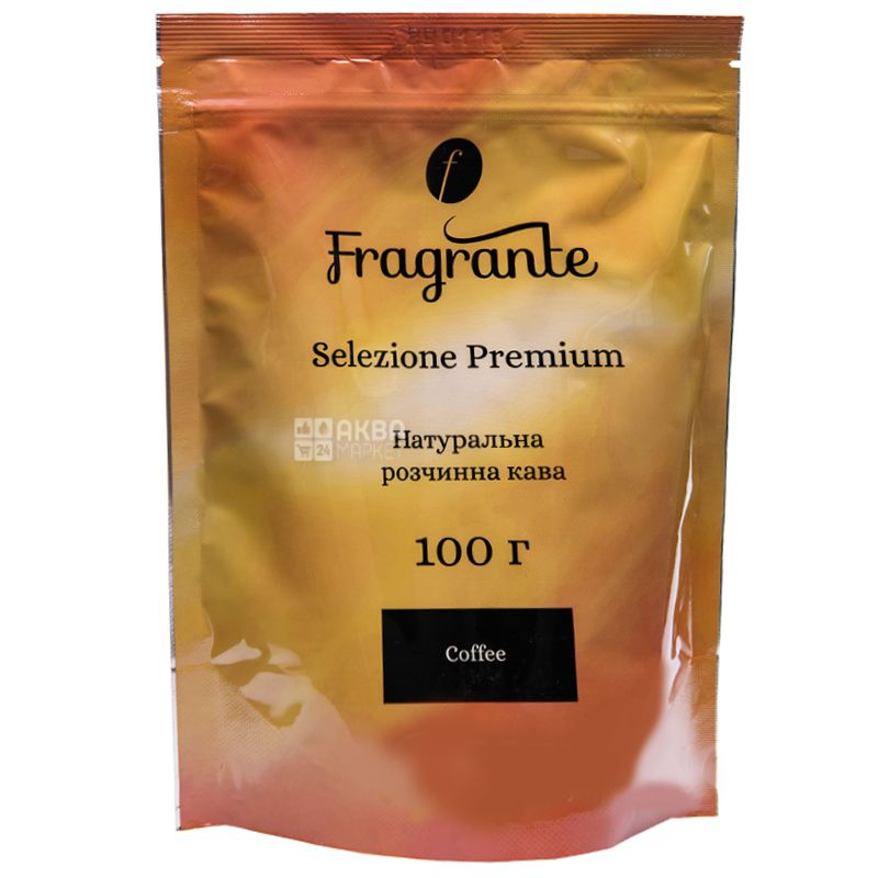 Fragrante Selezione Premium, 100 г, Кофе Фрагранте Селекшн Премиум, средней обжарки, растворимый