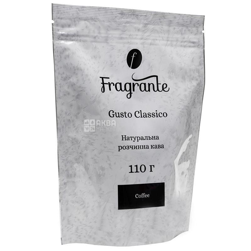 Fragrante Gusto Classico, 110 г, Кофе Фрагранте Густо Классико, растворимый