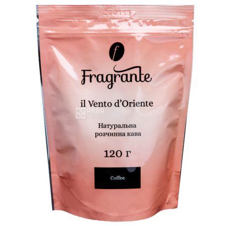 Fragrante il Vento d'Oriente, 120 г, Кава Фрагранте іль Венто д'Оріент, розчинний