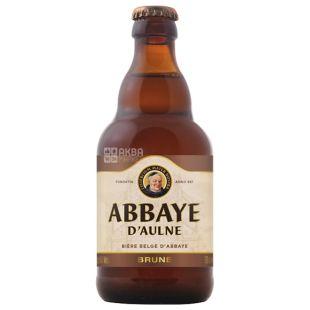 Abbaye D'Aulne Brune, Пиво Бельгийское, 0,33 л