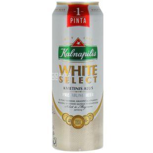 Kalnapilis Светлое нефильтрованное, Пиво, 0,568 л, Жестяная банка