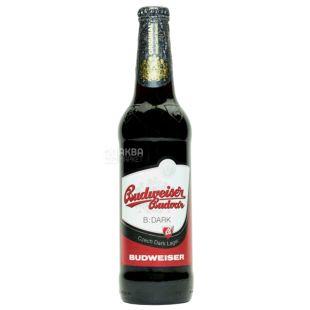 Budweiser Budvar B Dark, Пиво темное, 0,5 л