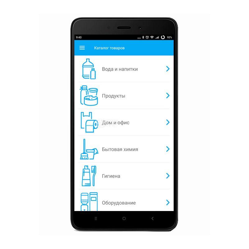Мобильное приложение аквамаркет