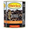 Iberica Маслины черные резанные, 3 кг, ж/б