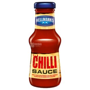 Hellmann's Чили, Соус, 250 мл, Стеклянная бутылка