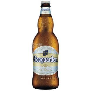Hoegaarden Cветлое нефильтрованное белое, Пиво, 0,75 л, Стеклянная бутылка