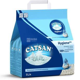 Catsan, 5 liters, filler, hygienic