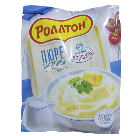 Rollton, 37 g, mashed potatoes with cream, m / s