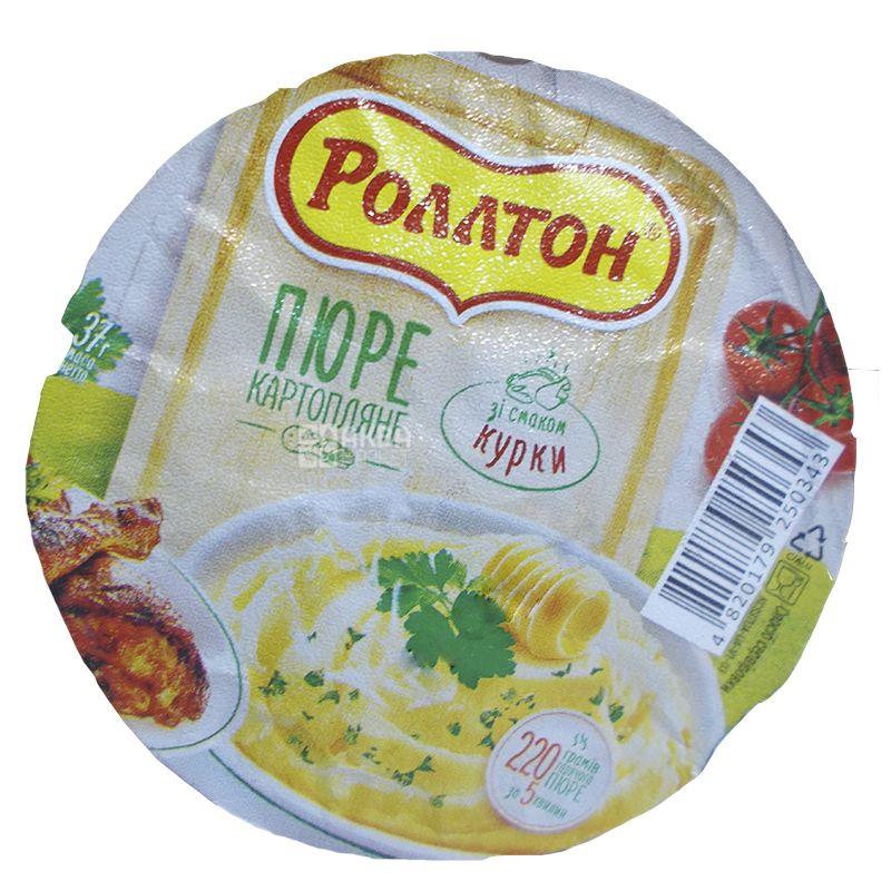 Роллтон, 37 г, Пюре картофельное с курицей