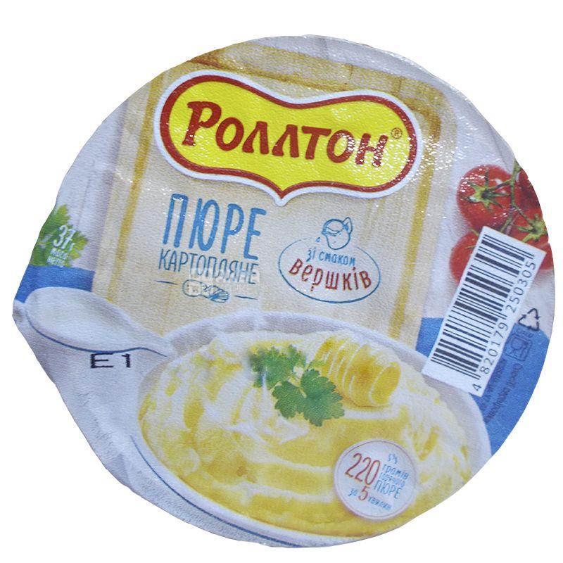 Роллтон, 37 г, Пюре картофельное со сливками