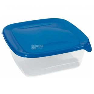 Cascade, Square container, assorted, 0.8 l, 140 x 140 x 54 mm