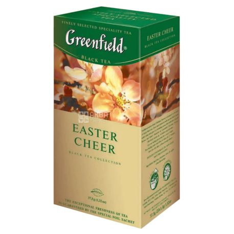 Greenfield Easter Cheer black Indian tea with additives, 25pack * 1.5g