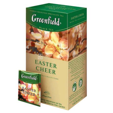 Greenfield Easter Cheer чорний індійський з добавками, 25пак*1,5г